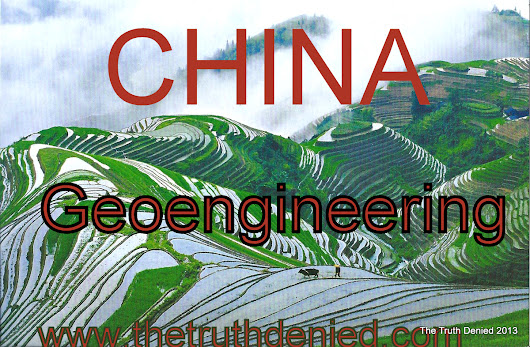 China & the blunt temptations of Geoengineering: Chinese Governments Documents – The Truth Denied