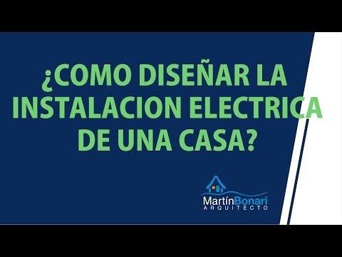 Instalaciones electricas c mo dise ar la instalaci n - Disenar mi propia casa ...