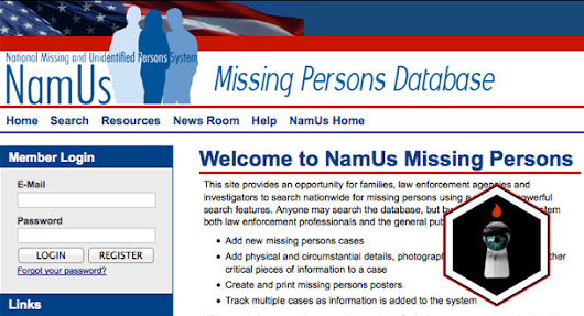 LURID: Last Seen Wearing - Missing Persons and Unidentified Remains Databases