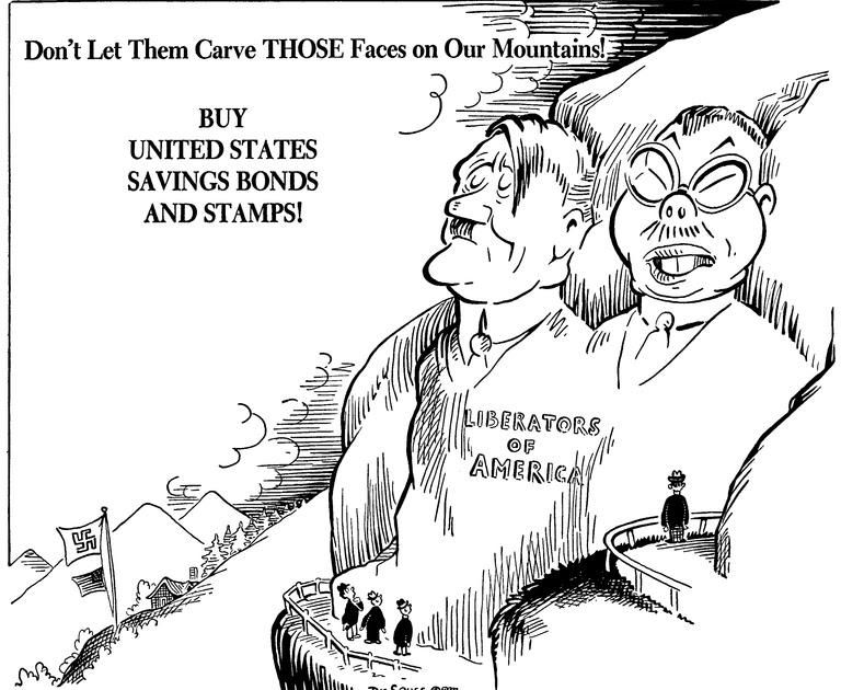 World War 2: Political Cartoons of World War 2