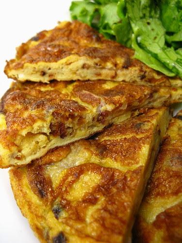 radish tortilla