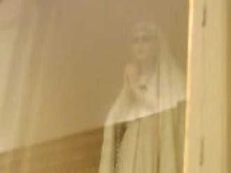 Virgen de fatima que mueve boca y manos / Fatima Virgin moves her mouth and hands