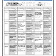 Homework Calendar October for PreK, K, and 1st Grades - Amy Rosado