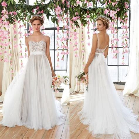 17 Best images about 2016 Lace Wedding Dresses Sheer Long