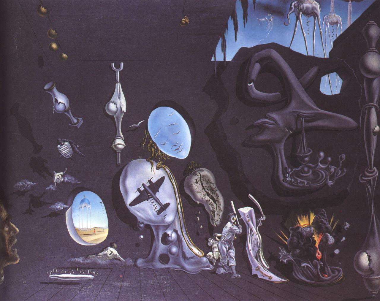 salvadordali-art:    Melancholy Atomic    Salvador Dali