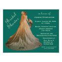 Bridal Shower Bride Card