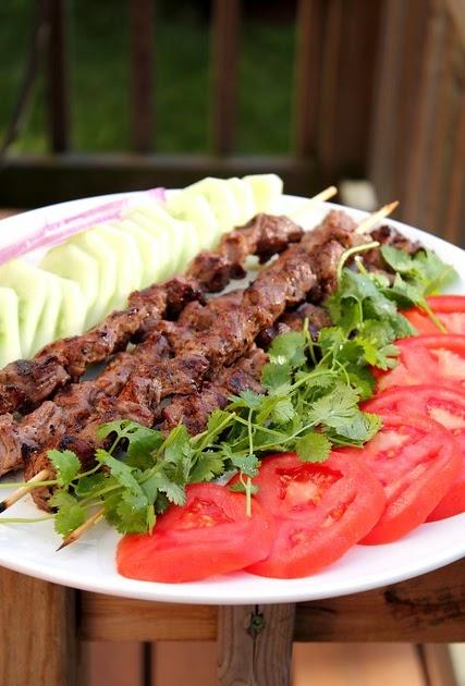 Adventuress summer grilled tikka kebobs for Afghan kebob cuisine