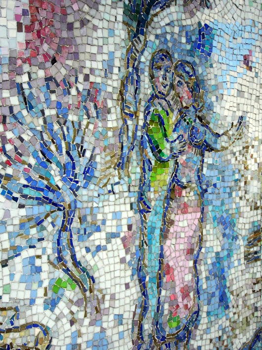 Photo Essay: Feast Your Eyes on Chagall's Monumental Mosaic