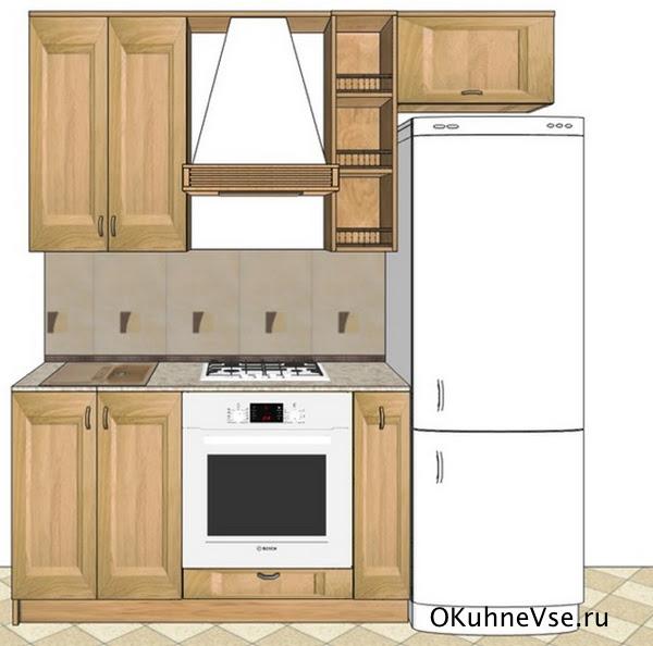 Маленькая кухня 1,5 м