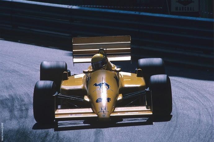 Em 1987, em Mônaco, Senna conquistou o lugar mais alto do pódio na Fórmula 1 (Foto: Norio Koike)