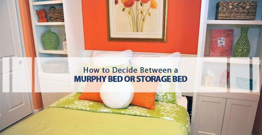 Murphy Bed or Storage Bed? | Lift and Stor