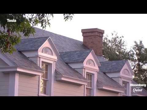 Video Tesla S Solar Power Roof Tiles