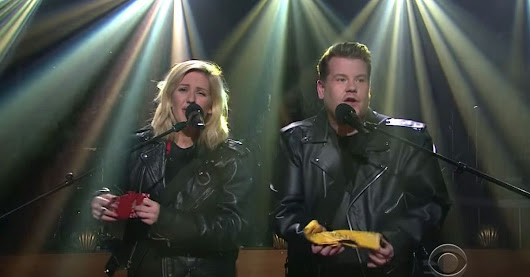 Ellie Goulding, James Corden sing 'Love Me Like You Do' in 8 genres