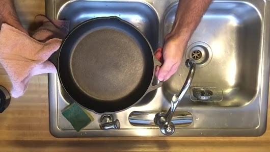 Iron Skillet Care In 3 Easy Steps • Cooking With Cast Iron