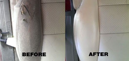 How to Repair Leather and Vinyl Car Seats