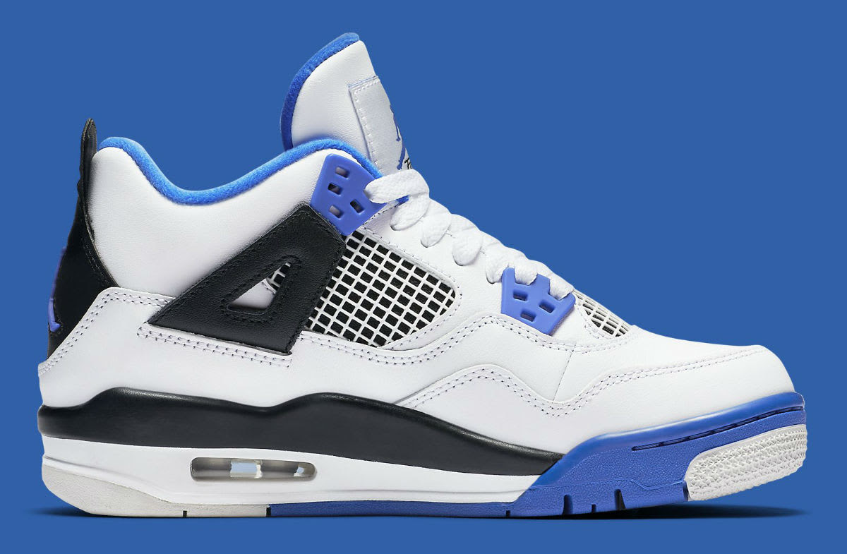 """Air Jordan 4 """"Motorsports"""" Detailed Images 
