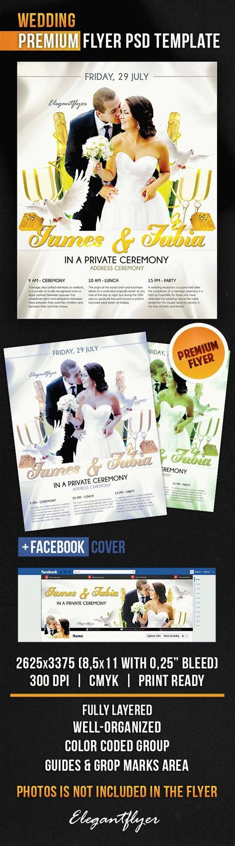 Flyer Template for Private Wedding Ceremony ? by ElegantFlyer