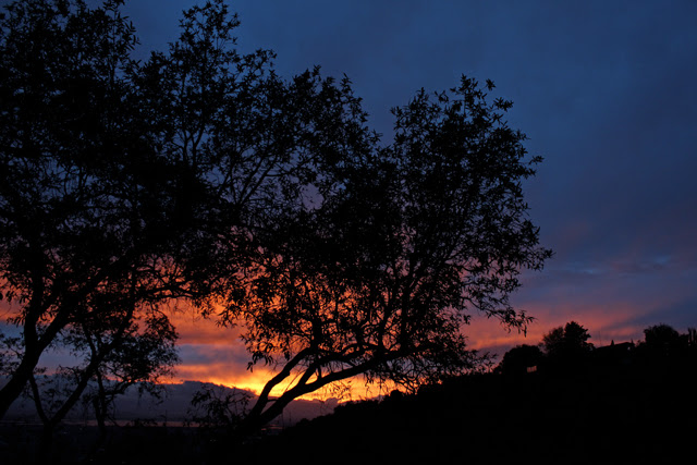 Sunset Jan 2013