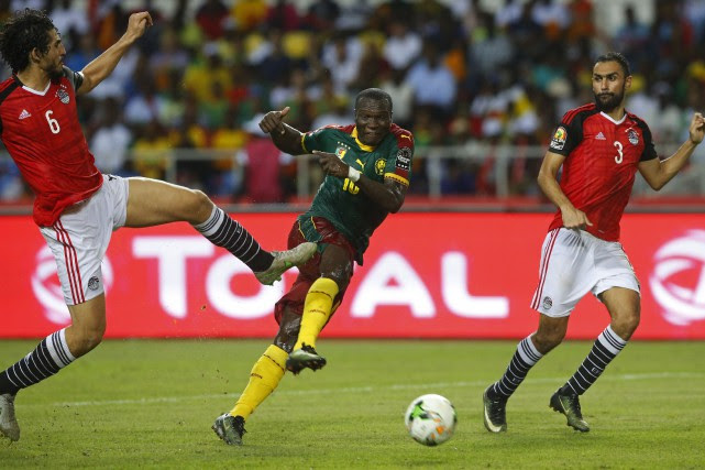 Les jeunes «Lions indomptables» ont enfin pris leur revanche sur les «Pharaons»... (PHOTO REUTERS)