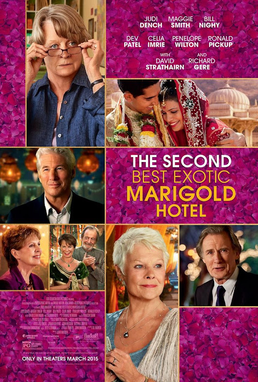 Movie Review: The Second Best Marigold Hotel #LoveBlooms
