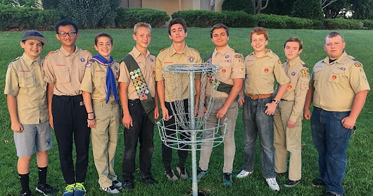 St. George Boy Scouts build new disc golf course for Eagle service project
