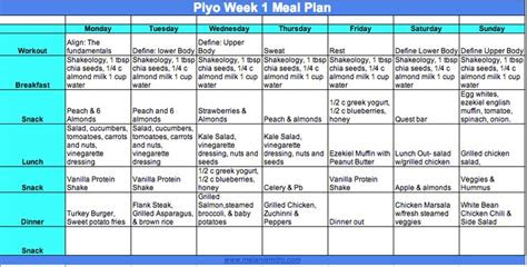 images  piyo  pinterest nutrition tracker