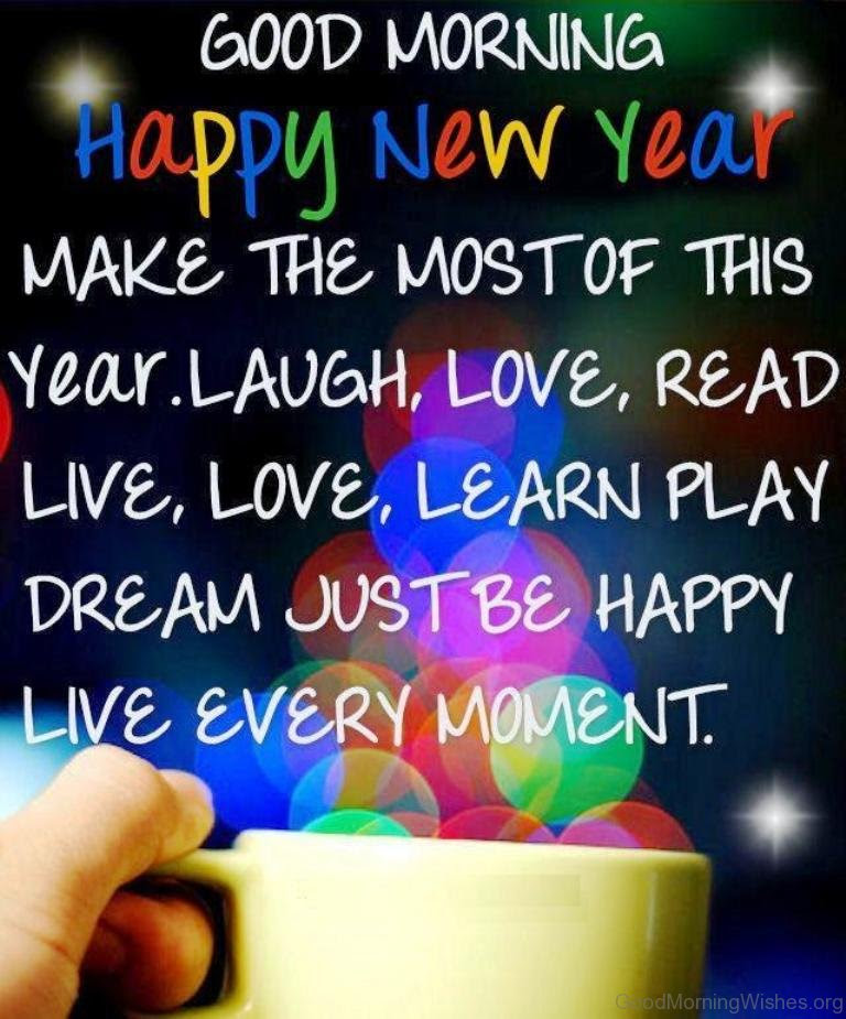 6 Good Morning Happy New Year Wishes