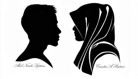 jasa pembuatan silhouette siluet profesional