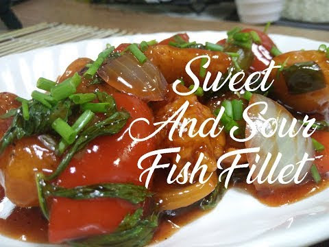How To Cook Sweet and Sour Fish Fillet | Fish Fillet Recipe