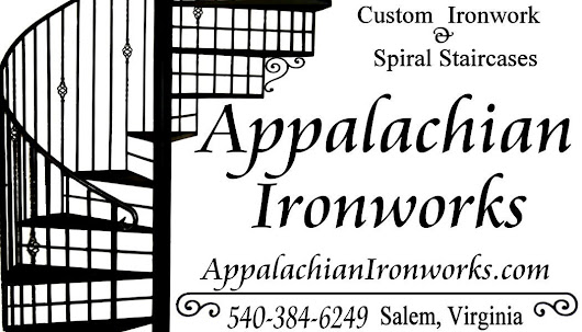ironwork and metal fabrication in Virginia by Appalachian Ironworks