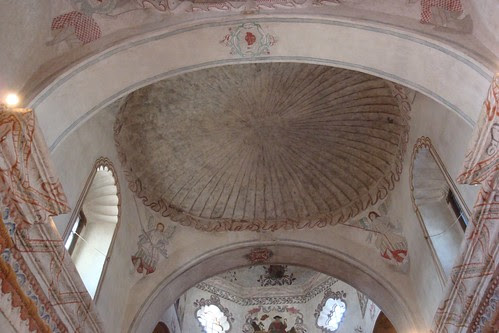 Ceiling at San Xavier