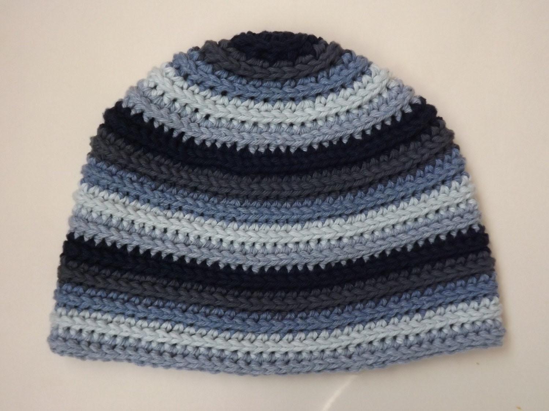 Warped Beanie Hat Crochet PATTERN