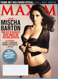 Mischa Barton - MAXIM January 2008 pictures
