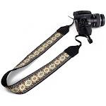 Perri's Leathers CSJ-25 Jacquard Camera Strap, Henna CSJ-25