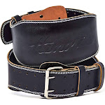Hemori Genuine Cowhide Leather Pro Weight Lifting Belt for Men and Women Large