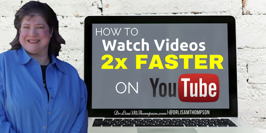 How to Watch YouTube Videos 2x Faster to be More Productive