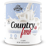 Augason Farms Gluten Free Country Fresh 100% Real Instant Nonfat Dry Milk - 29oz
