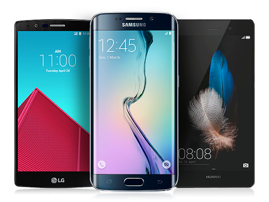 Win a Galaxy S6 Edge, an LG G4, or the Huawei P8 - The Choice is Yours to Make!