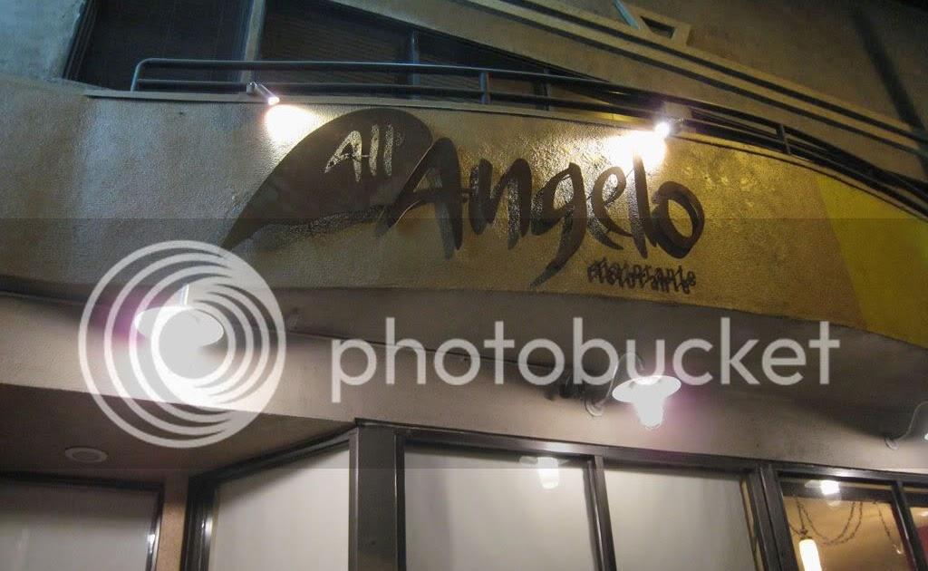 Restaurant All Angelo Witney Menue