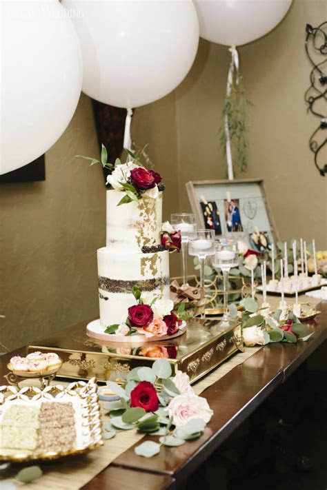 Rustic Burgundy Engagement Party   ElegantWedding.ca