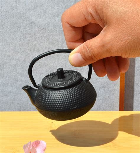 Tiny Water dropper   Mini Cast Iron Teapot   Japanese
