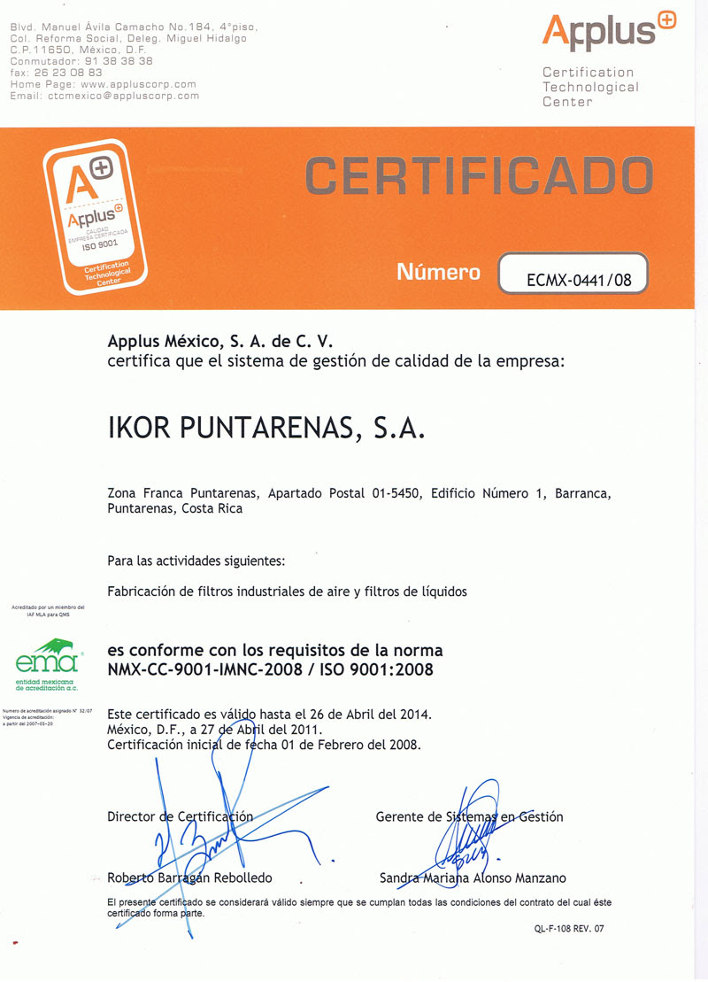 Quality Manufacturing Companies In Costa Rica Ikor Industries
