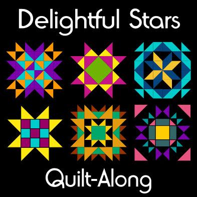 Delightful Stars Quilt-Along