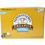Newman's Own Organics Special Blend Coffee K-Cups - 100 pack, 0.49 oz each