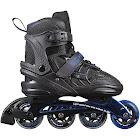 Schwinn Unisex Adult Adjustable Inline Skate - Black/Blue 10-11.5