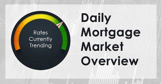 Mortgage Rates Moving Slightly Lower This Morning