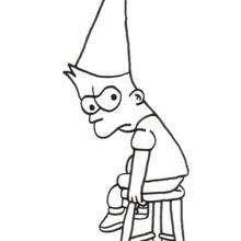 Dibujos Para Colorear Los Simpson En Navidad Es Hellokids Com