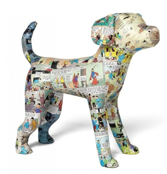 hond- papier-maché