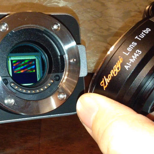 Mitakon Lens Turbo might work after all on BMPCC