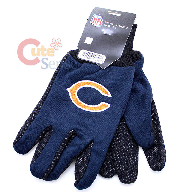 NFL Chicago Bears Sports Utility Work Mens Gloves  eBay